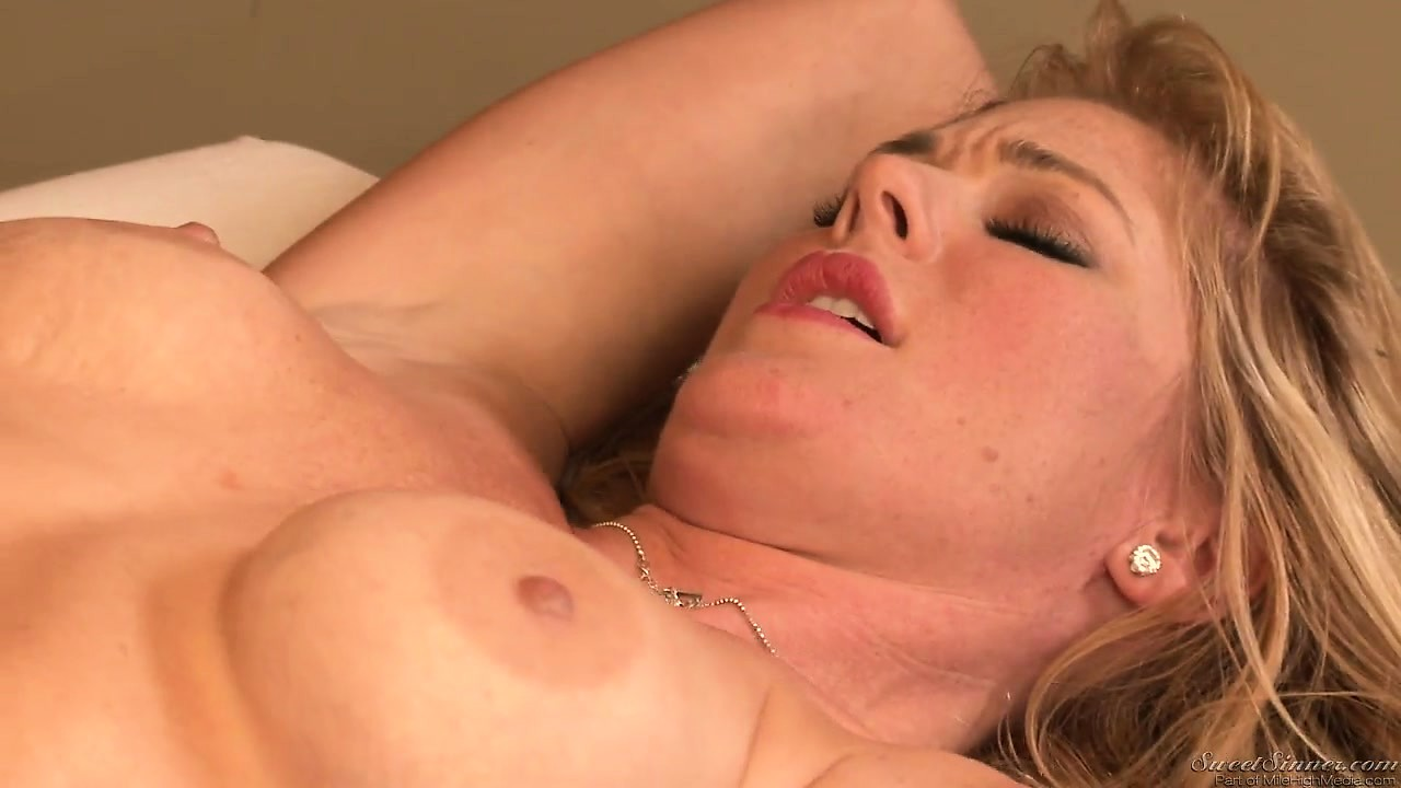 Porno Video of Blonde Babe Gets A Massage With Some Lesbian Action On The Side